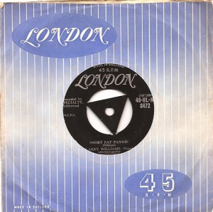 larrywilliamsshortfat, Larry Williams, Johnny Guitar Watson, London American, Northern Soul