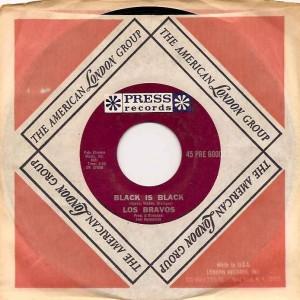 losbravosblackusa, Los Bravos, Decca, Press, Ivor Raymmonde