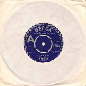 losbravosdontcareuka, Los Bravos, Decca, Press, Ivor Raymmonde