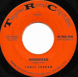 Hardhead / Louis Jordan