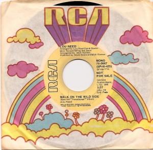 louwalkusa, Lou Reed, RCA, David Bowie, Mick Ronson