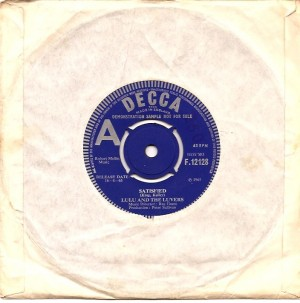 lulusatisfied, Lulu, Lulu & The Luvvers, Lulu & The Luvers, Decca, Parrot