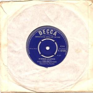 lulusurpriseuka,Lulu, Lulu & The Luvvers, Lulu & The Luvers, Decca, Parrot