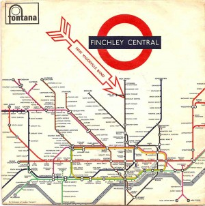 Finchley Central / The New Vaudeville Band UK Picture Sleeve