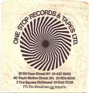 One Stop Records Bag
