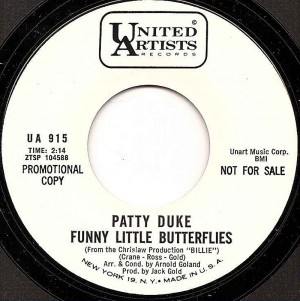 Funny Little Butterflies / Patty Duke