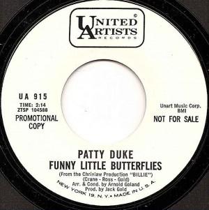 Funny Little Butterflies / Patty Duke