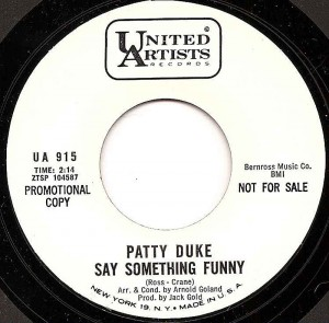 Say Something Funny / Patty Duke