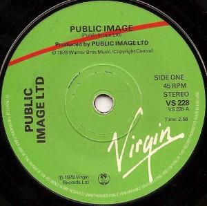 pil-pil, Public Image, Public Image Ltd., PIL, Johnny Rotten, John Lydon, Virgin