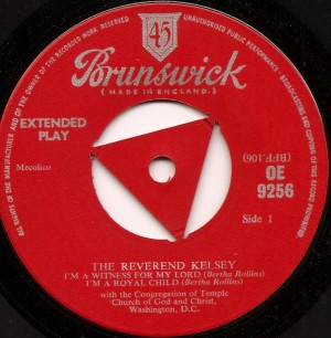 reverendkesley, Reverend Kelsey, Brunswick