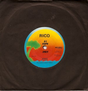 ricouka, Island, Rico, Howard Thompson, Eddie & The Hot Rods