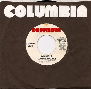 rockpileteacherusa, The Creation, Rockpile, Dave Edmunds, Dave Edmunds' Rockpile, Columbia, Nick Lowe