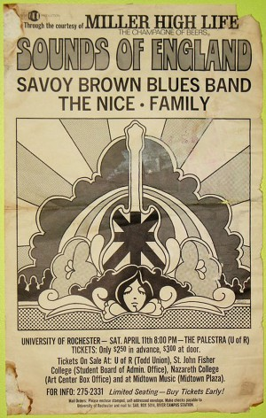 Savoy Brown The Nice Family Poster