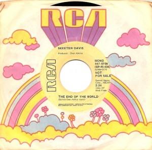 skeeterendusa, Skeeter Davis, Chet Atkins, RCA