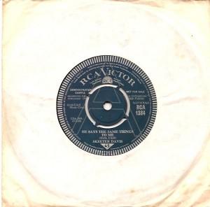 skeeterhesays, Skeeter Davis, Chet Atkins, RCA