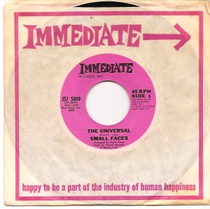 smallfacesuniversalusa, The Small Faces, Walt's Records Syracuse, Steve Marriott, Ronnie Lane, Immediate