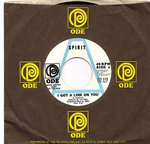 Spirit / I Got A Line On You