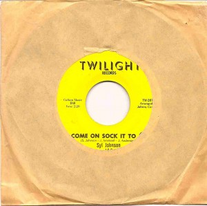 Come On Sock It To Me / Syl Johnson