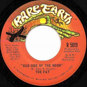 Bad Side Of The Moon / Toe Fat