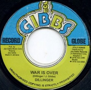 War Is Over / Dillinger