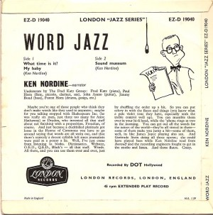 wordjazzpsb, Ken Nordine, Word Jazz
